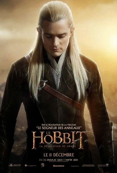 映画「ホビット〜竜に奪われた王国〜」のポスター。映画ホビットの世界