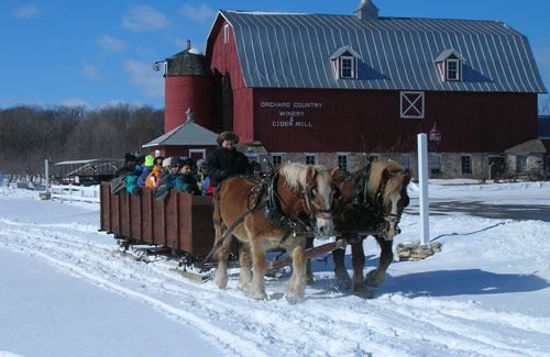 Looking forward to visiting Wisconsin and Winter Wonderland Tours - Door County Trolley - Horse Drawn Sleigh Rides
