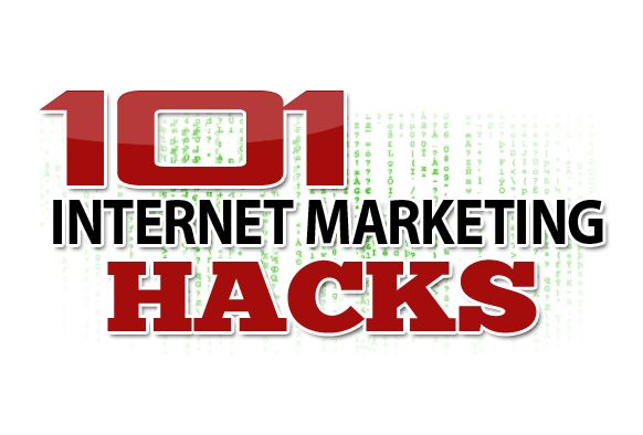 If you want to become a successful Internet Marketer then these 101 Internet Marketing hacks created by full time Internet Marketer John Thornhill wil