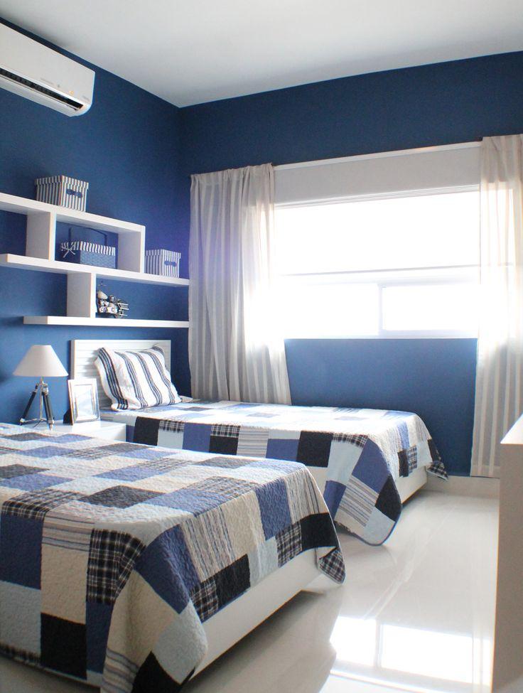 Habitaciones con azul