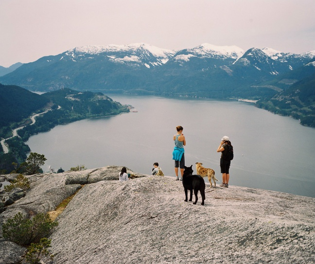 Day hike The Chief. Squamish, BC: Recommend it! Between vancouver and whistler
