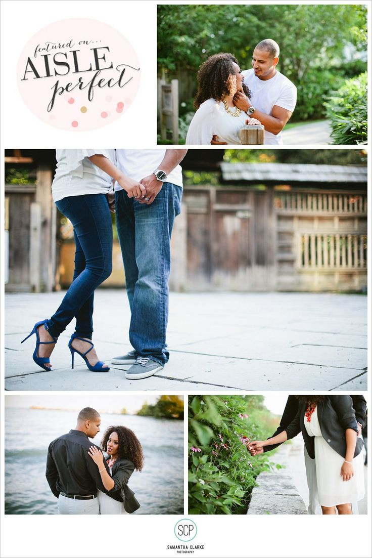 Mississauga Engagement Photography by Samantha Clarke featured on Aisle Perfect blog.