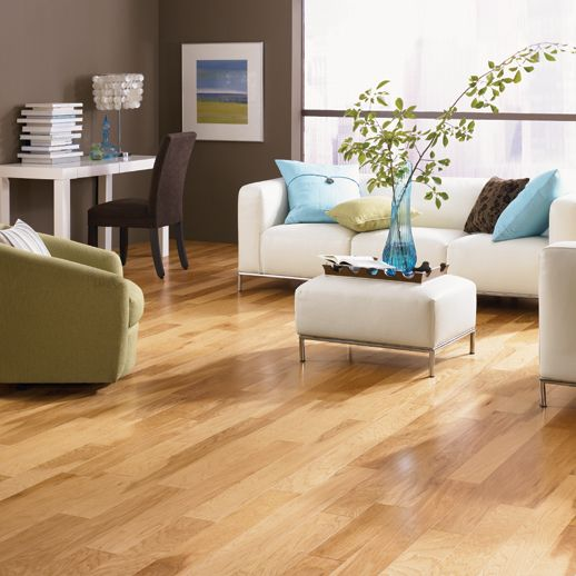 Columbia click flooring in chase hickory rustic hickory for Laminate flooring limerick
