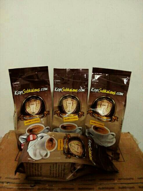 Sidikalang arabica super 250 gram only IDR 24,000 roasted fine grind.