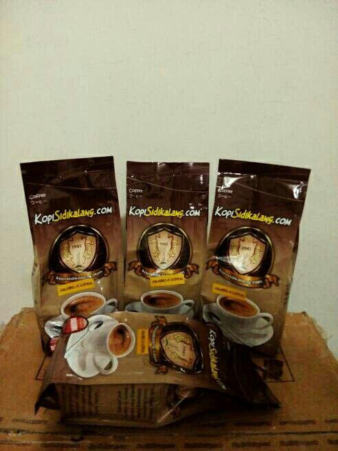 Sidikalang Arabica Super Coffee @ 250 gram roasted fine grind. Indonesia Speciality Coffee.