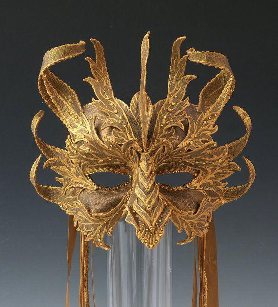 Dragon Half Mask