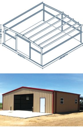 Steel Buildings - Metal Mart