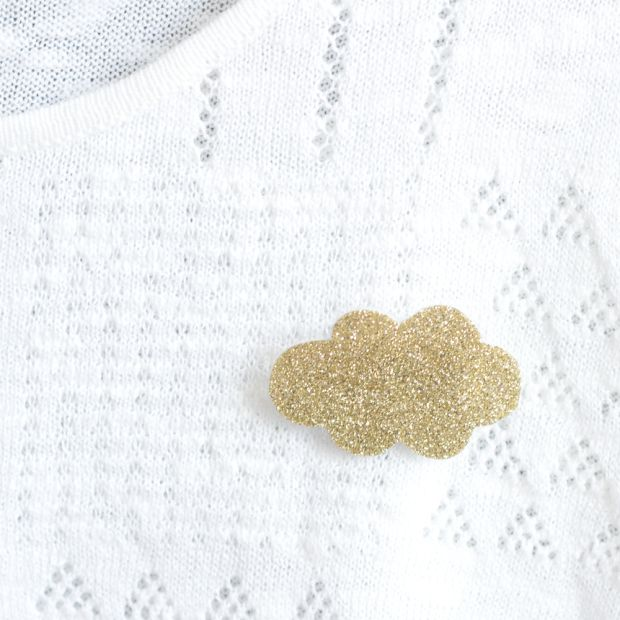 DIY Broches à paillettes