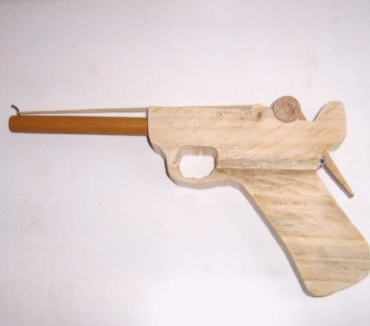 how to make a semi auto paper gun that shoots
