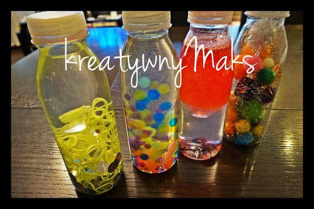 kreatywnyMaks: Sensory Bottle - Butelki sensoryczne