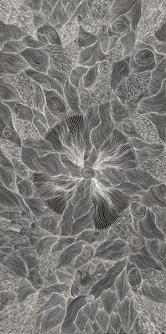 'Enteebra', Annie Petyarre, 2014