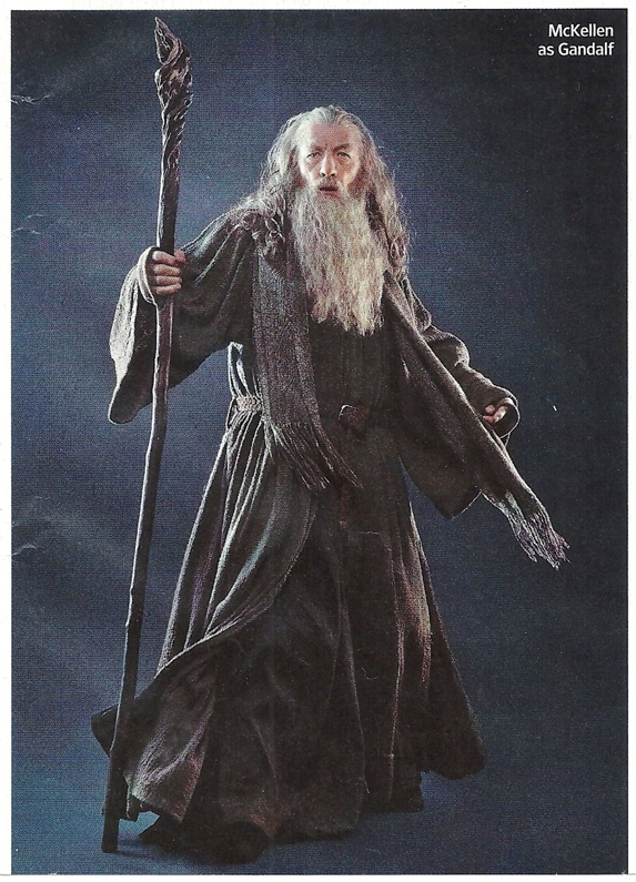 Ian McKellen as Gandalf - from Entertainment Weekly