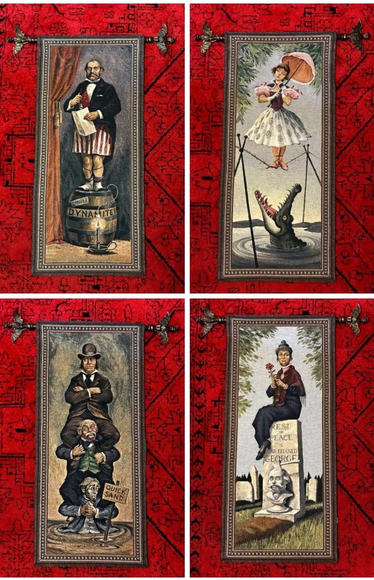 Haunted Mansion Tapestries