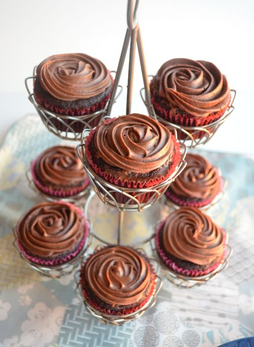 chocolate black bean cupcakes gluten free fluffy  and delicious!