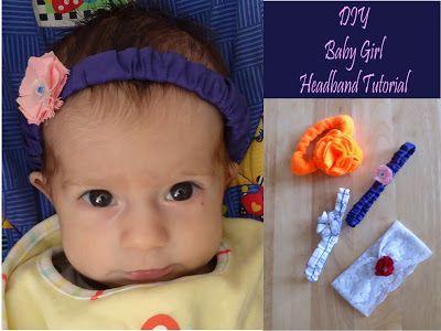 We Like Making Our Own Stuff: Baby Girl Headband Tutorial