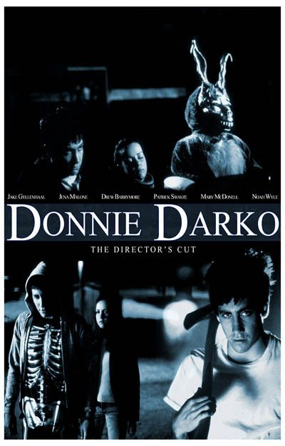 Donnie Darko Director's Cut Jake Gyllenhaal Movie Poster 11x17