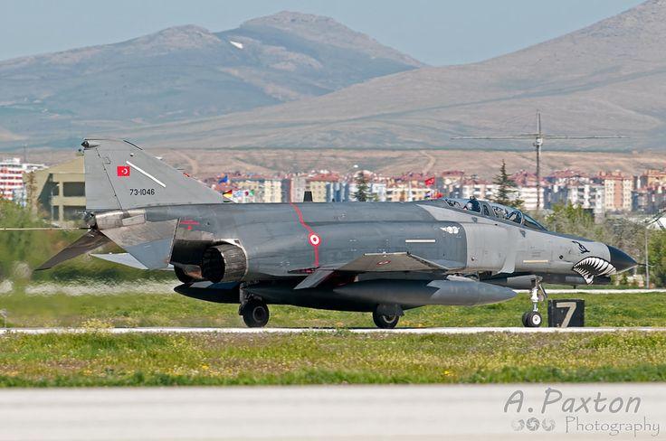 https://flic.kr/p/TyvX5B   Turkish Air Force   McDonnell Douglas F-4E-2020 Phantom   73-1046   111 Filo 'Panter' - Eskisehir Air Base, Turkey   NTM15 - Konya Air Base, Turkey