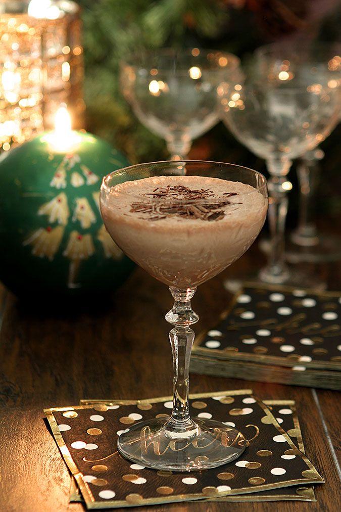 ... Bourbon | http://www.creative-culinary.com/chocolate-eggnog-bourbon