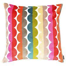 Grace 22x22 Velvet Pillow, Multi