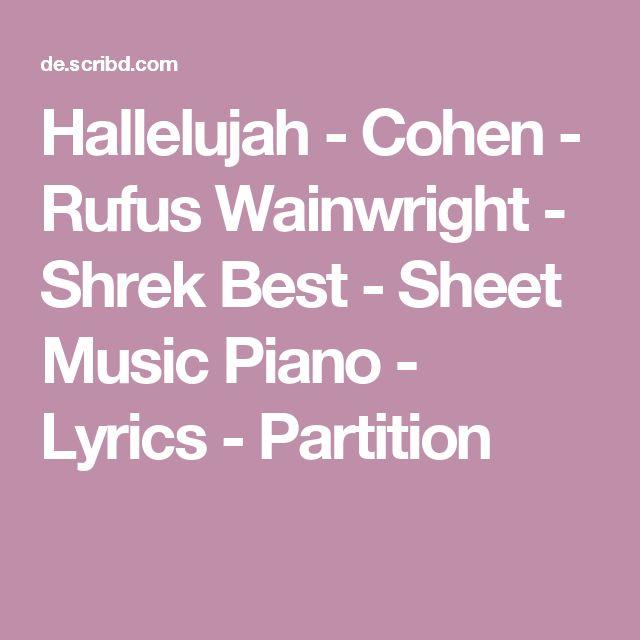 Best 25+ Hallelujah Lyrics Ideas On Pinterest