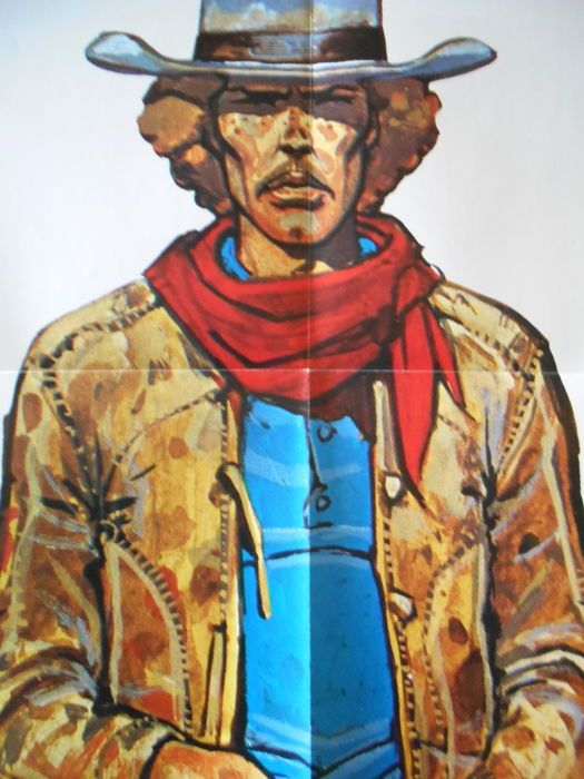 "Giraud, Jean (aka Moebius) - poster ""Jim Cutlass - Mississipi River"" (1979) - W.B."