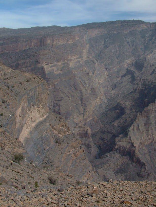 Oman,Wádí an-Nachr (velký kaňon)