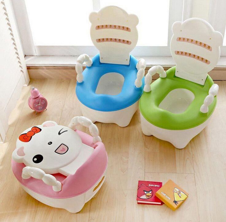 2017 HelloKitty Portable Cartoon Character Toilet Seat For Babies Travel Potty
