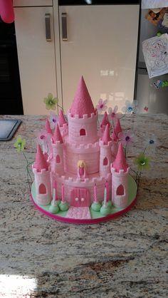 Fairy Princess CastleThe Dorset Cake Artist The cakepins.com
