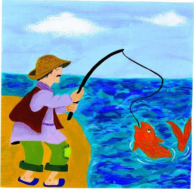 Dafna Zayden: The fisherman and the gold fish