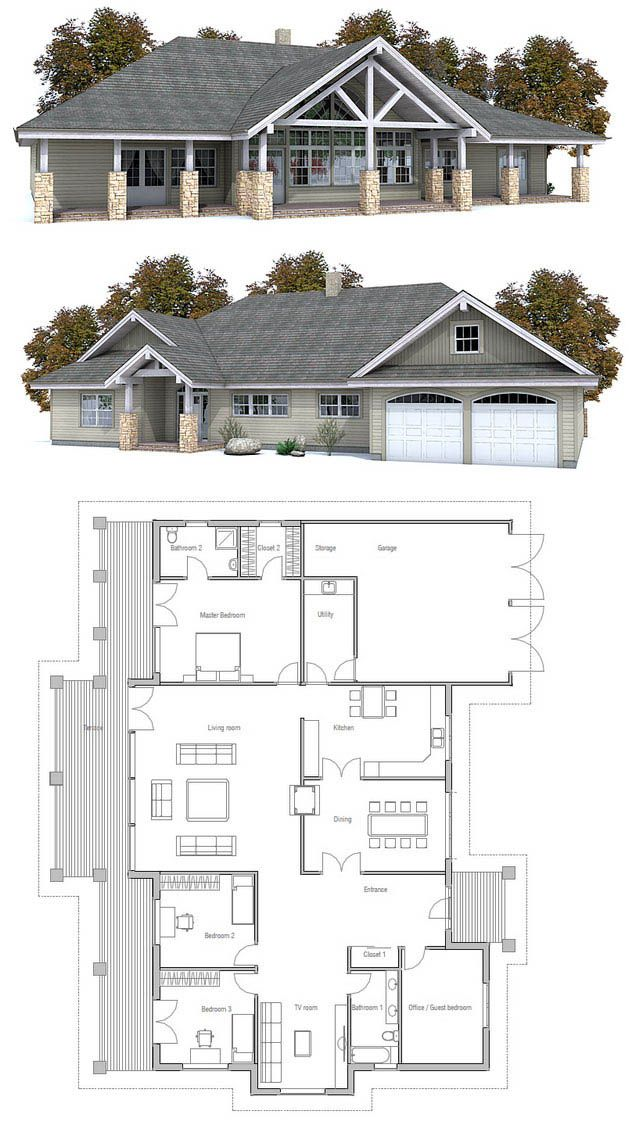 1965 best house plans ideas 3 images on pinterest house for 2 level tiny house