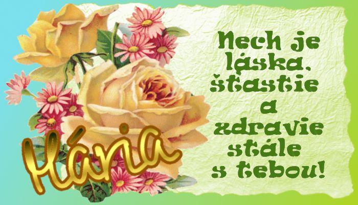 Mária   Nech je láska, šťastie a zdravie stále s tebou