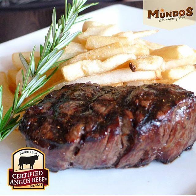 ¡Te mereces lo mejor! Por eso en #MundosRestaurante te esperamos con nuestra variedad de carnes al carbón #CertifiedAngusBeef, la mejor carne del mundo. Reserva en el tel. 5371835 o en www.mundos.com.co