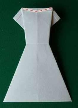New Origami Dress Card Dollar Bills Ideas #dress #…
