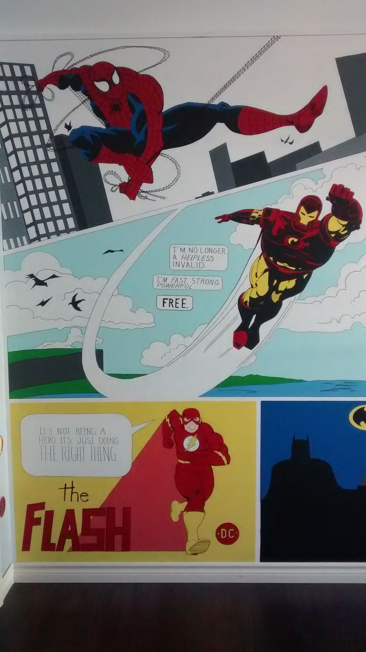 Hero Mural ~ by Cat Bouthillier
