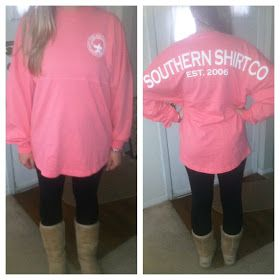 Philosophy of a Drunk Sorority Girl: The Southern Shirt Company & Your Letters! Spirit Jerseys, Frockets, Koozies & Hats GALORE!