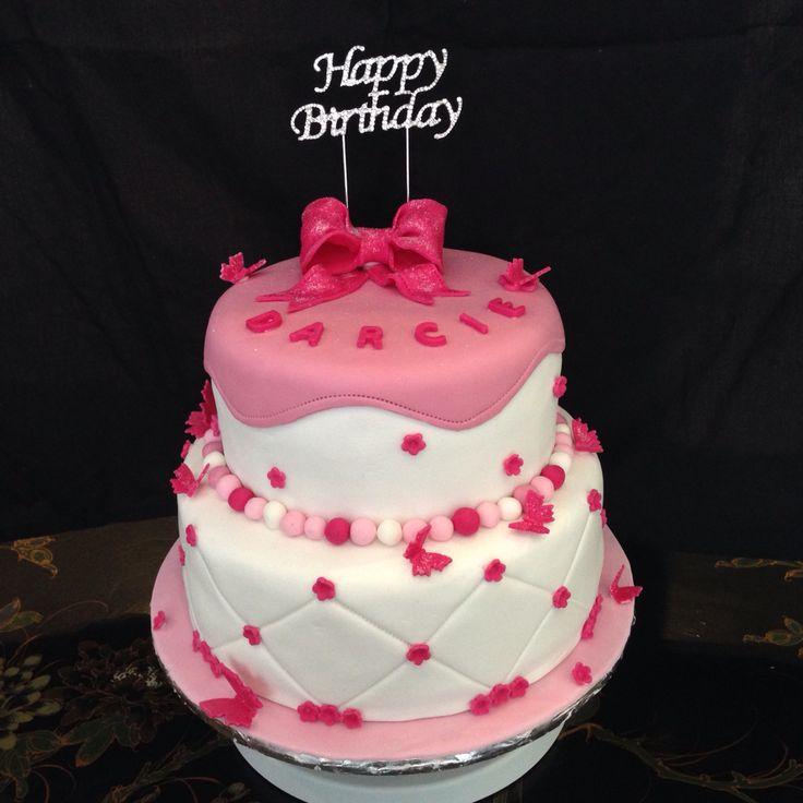 Girls 5th birthday cake