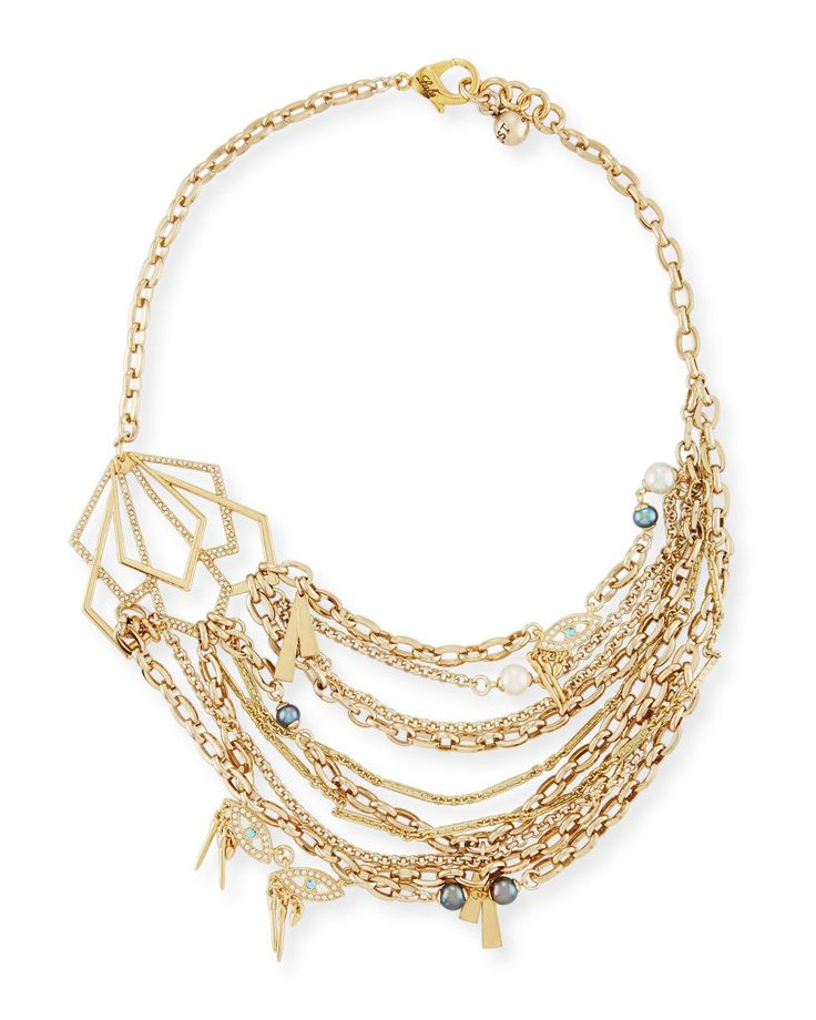 Lulu Frost Rumba Sequined Statement Necklace v5FHQRjx