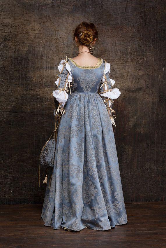 Robe de femme italienne Renaissance mis 15ème-16ème par RoyalTailor