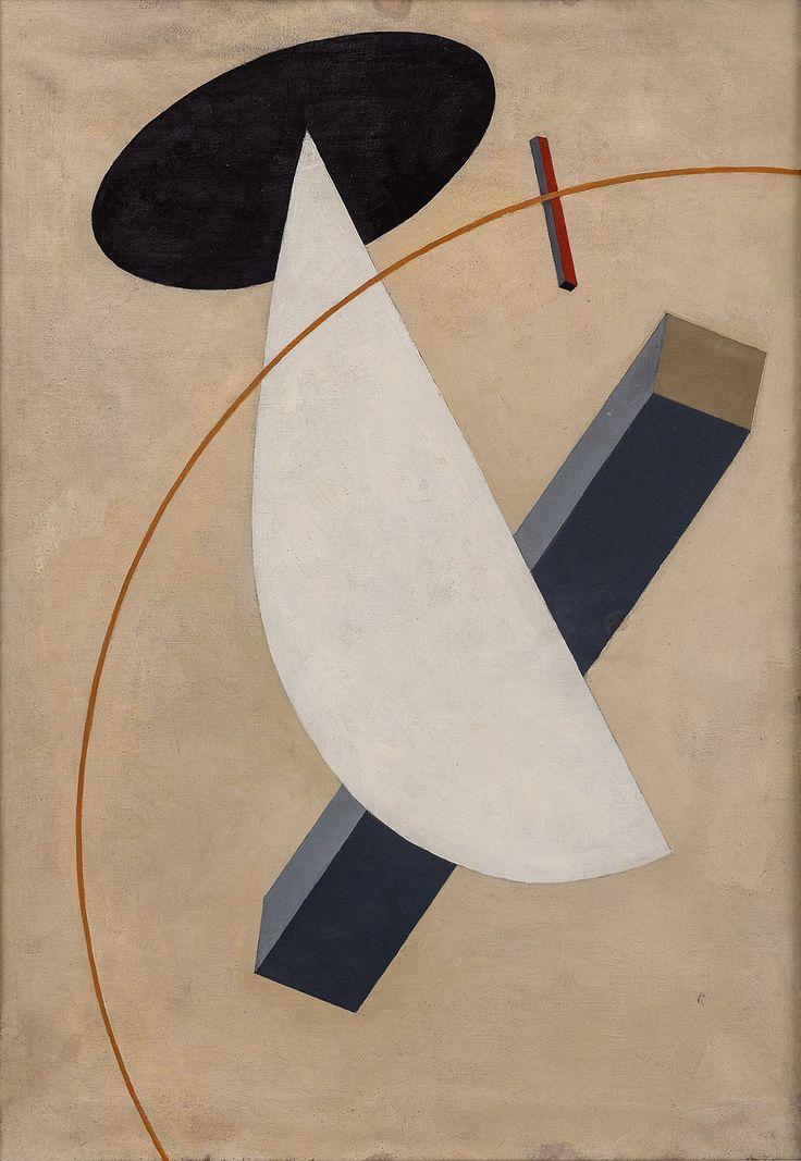 hipinuff:  El Lissitzky (Yiddish, b.Russia, 1890 -1941), Rotation Proun , c.1919