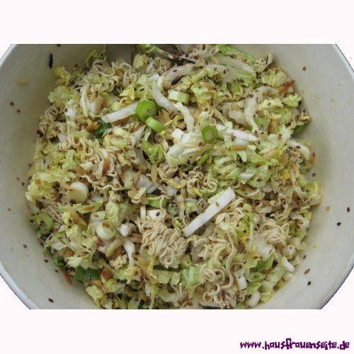 Jinxx' asiatischer Nudelsalat
