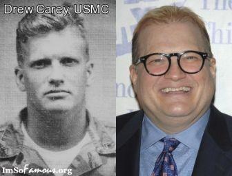 celebrity Marine | famous veteran drew carey usmc tags drew carey marine rating 5 5 more ...