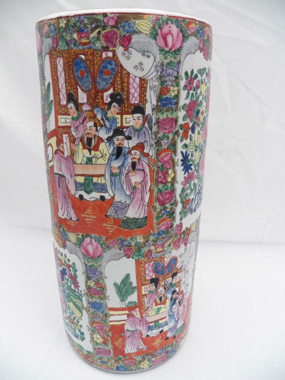 Oriental Vases Awesome Pair Of Oriental Vases Second Half Of The