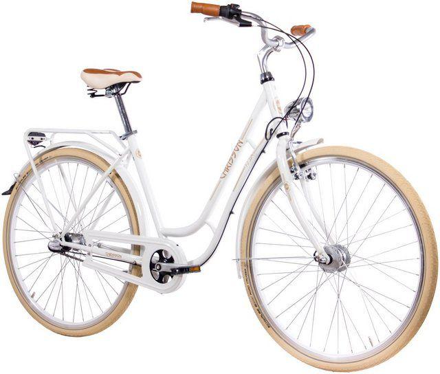 Citybike Damen N Lady 28 Zoll 3 Gang Rucktrittsbremse