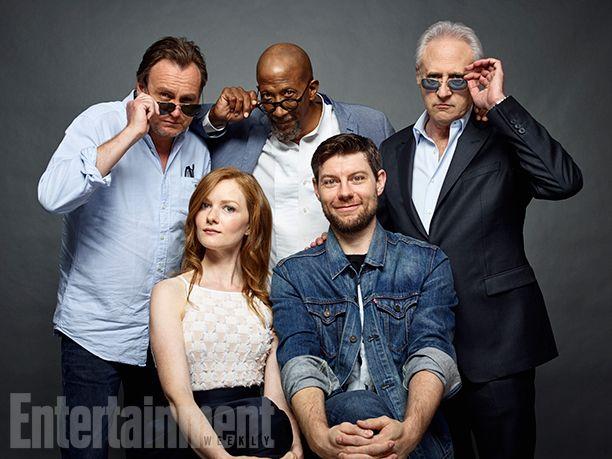 Comic-Con 2016 Star Portraits: Day 3 | Philip Glenister, Reg E. Cathey, Brent Spiner, Patrick Fugit, and Wrenn Schmidt, 'Outcast' | EW.com