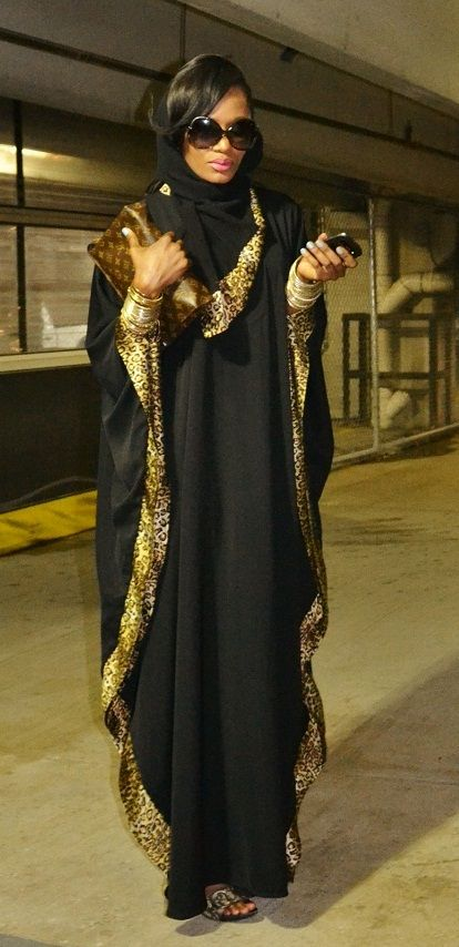 Stylish  abaya work lace 2015 collection  (5)