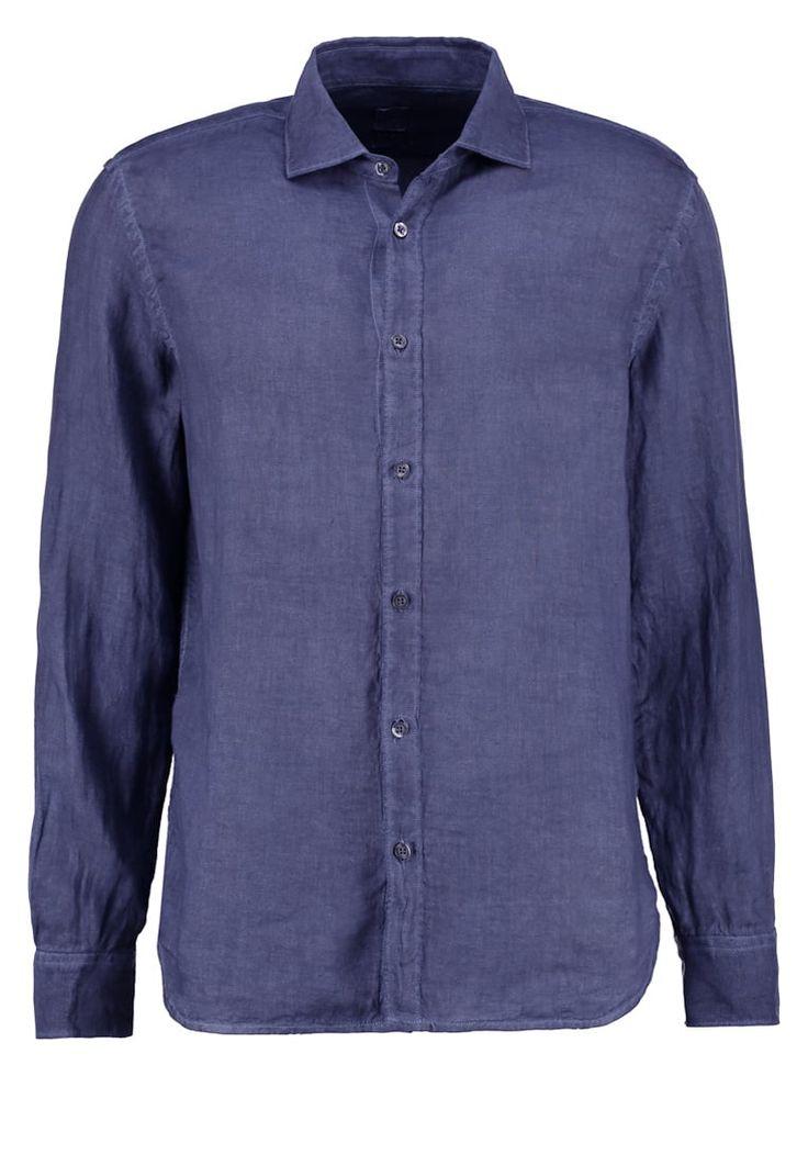 120% Lino SLIM FIT Hemd dark blue Premium bei Zalando.de | Material Oberstoff: 100% Leinen | Premium jetzt versandkostenfrei bei Zalando.de bestellen!
