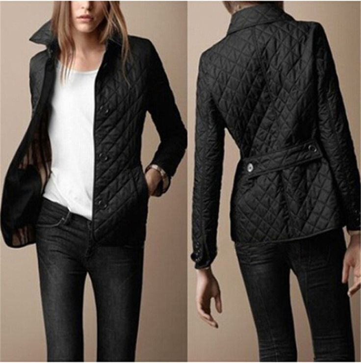 2016 New Fashion Short Patchwork Women Parkas shirt collar loose long sleeve Single Breasted Slim jacket winter outwear coat - http://fashionfromchina.net/?product=2016-new-fashion-short-patchwork-women-parkas-shirt-collar-loose-long-sleeve-single-breasted-slim-jacket-winter-outwear-coat-2
