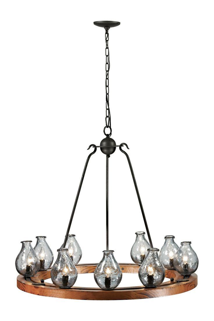 529 best lighting images on pinterest chandeliers pendant lamps handmade vases 8 light chandelier wheel arubaitofo Images