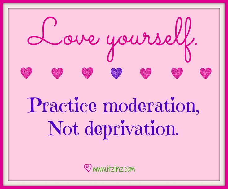 moderation is the key to healthy living You don't want to overdo it though, and throw all your healthy eating  though  that moderation is key when maintaining a healthy lifestyle.
