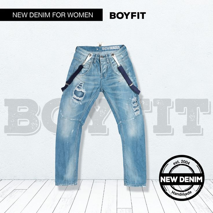 The most comfortable experience in denim.